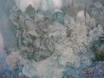 Disrupted Season Disrupted Season 2012 acrylic on poly cotton 81cm(H) x 101cm(W)